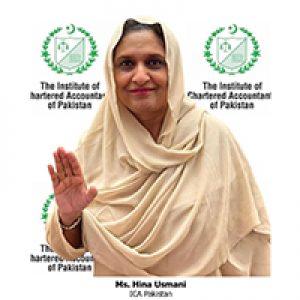 SAFA WLC Member, ICA Pakistan
