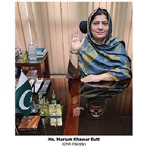 SAFA WLC Member, ICMA Pakistan